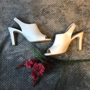 Young & Tae sling back heels